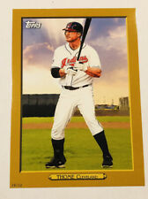 Jim Thome 2020 Topps Turkey Red 2020 5x7 Gold #TR-35 /10 Indians