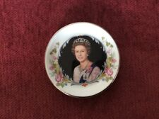 Boxed - Small Fine Bone China Dish - Crown Staffordshire - Royal Silver Jubilee