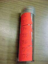 1972 - 1978, P  LINCOLN MEMORIAL PENNY ROLL (ONE ROLL)