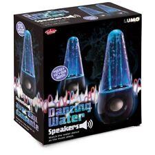 DANCING WATER SPEAKERS - 28363 PULSES DANCES USB POWERED MEDIA SMARTPHONE FUN