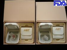 BRAND NEW TWO ( A PAIR ) DIGITAL CIC HEARING AID AIDS FOR MODERATE LOSS