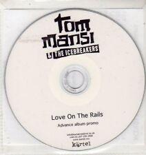 (BU12) Tom Mansi & The Icebreakers, Love On The Rails - DJ CD