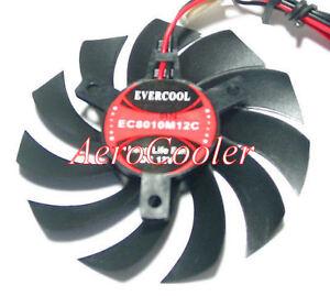 EverCool EC8010M12C 80x80x10mm Video Card Fan, 2pin