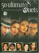 50 ULTIMATE DUETS - NUEVO ORIGINAL 50 SUPERHIT Duets BOLLYWOOD SONGS 4CDs JUEGO