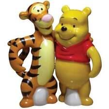 Disney Winnie the Pooh and Tigger Ceramic Salt Pepper Shaker Set Nib