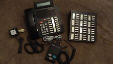 NORTEL Meridian NT4X44 M5216 Business Telephone LCD Display w/ NT4X34 36 Button