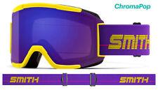 Smith Optics Squad Yellow 1993 ChromaPop Violet Mirror Lens Ski Goggles 2020