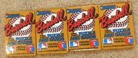 1987 Donruss Baseball Wax Pack Lot - 4 Unopened Packs