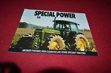 John Deere 2555 2955 4255 Hi Crop Tractor Dealers Brochure YABE4