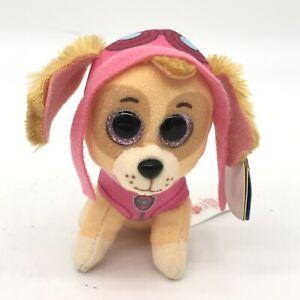"TY Beanie Boos 6"" Paw Patrol SKYE the Cockapoo Plush Stuffed Animal Toy MWMTs"