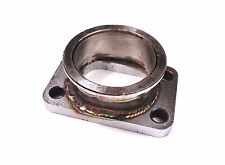 """Mild Steel T3 manifold Conversion Plate to 2.5"""" Vband V Band"""