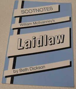 Scotnotes 14 William McIlvanney's Laidlaw