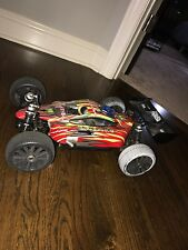 Gas powered RC car.  Brand: Iron Track.  Type: 1:8