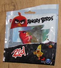 Rovio Angry Birds Red Figure Spin Master Black new sealed bag 5 cm yellow