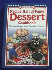 COOKBOOK RECIPES HALL OF FAME DESSERT BEST OF BEST SWEETS  GREAT GIFT IDEA