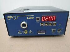 EFOS E3000 Lite UV Durcissement Lumière Source, En : 100-240VAC, 50/60Hz, 1.5A,