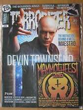 Terrorizer September 2016 Devin Townsend Wounded Kings Subrosa Myrkur & CDs