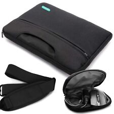 Laptop Sleeve Case Cover Bag with Shoulder Strap for 13-13.3 Inch MacBook Pro