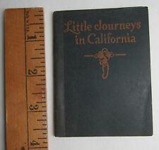 RARE Miniature Travel Book Journeys in California 1914 Rock Island IL Railroad