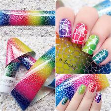 1stk Holo Nagelfolie Transferfolie Zauberfolie Nail Art Foils Gradient #GL621