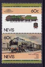 NEVIS LOCO 100 SNCF CLASS 240P LOCOMOTIVE FRANCE STAMPS MNH