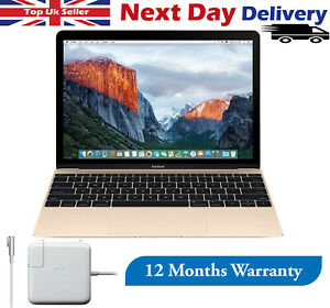 "Apple MacBook 12"" Laptop 1.1GHz Intel Core M 8GB RAM 256GB SSD Gold 2015 Mojave"