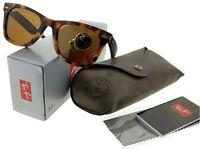 16f9103a83 Ray-Ban RB2140-1170 Wayfarer Green Frame Green Lens Genuine Sunglasses NIB