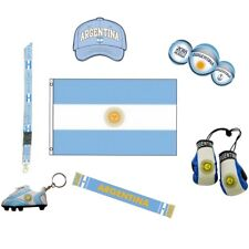 WORLD CUP 2018 ARGENTINA SOCCER FLAGS,SCARVES & ACCESSORIES CHOOSE FROM 10+ ITEM