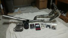 honda cbx 1000 6/1 exhaust with k/n filters and dyna jet kit