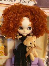 Customized Red Head Samantha & Sam Bear ,Blythe Doll Dressed , Icy Doll
