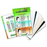 Madeira Starter Set, 12 Proben Premium Stabilizers + Stickfibel 9449