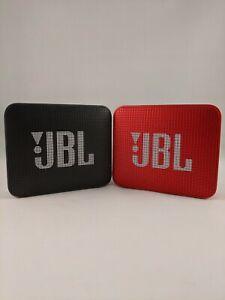 JBL Go 2 Portable Waterproof Bluetooth Speaker - Black or Red