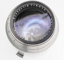 Contax RF Carl Zeiss Jena 8.5cm f2 Sonnar T*    # 3208315