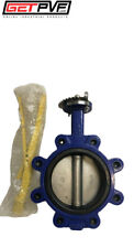 "6"" Lug Butterfly Valve Ductile Iron Body 316 SS Disc"
