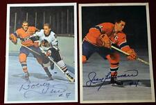 Complete Set 42 1963-64 Toronto Star Hockey Stars In Action Photos 8 Signed!