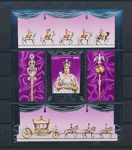 LO41551 Togo silver foil queen Elizabeth II royalty good sheet MNH