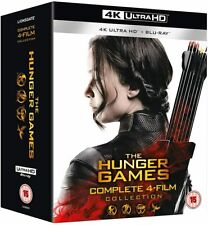 The Hunger Games Complete Collection 1-4 [2018] (4K Ultra HD + Blu-ray)