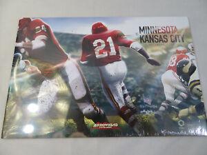 Kansas City Chiefs Arrowhead Poster Series Minnesota Vikings November 3rd