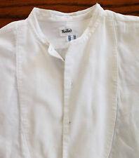 Vintage Marcella tunic shirt size 15.5 Radiac 1930s mens evening dress TATTY