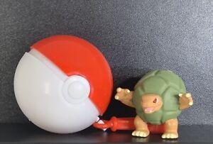 1999 Burger King Kids Meal Toy Pokemon GOLEM SPINNER