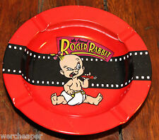 VINTAGE WHO FRAMED ROGER RABBIT BABY HERMAN METAL ASH TRAY 1987 BRöER NEW ODD