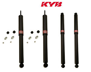 Front and Rear KYB Excel-G Shock Absorbers Kit for Jeep Wrangler 1987-1995