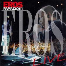 EROS RAMAZZOTTI : EROS RAMAZZOTTI LIVE / CD - TOP-ZUSTAND