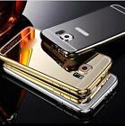 COVER BUMPER ALLUMINIO A SPECCHIO per Samsung Galaxy J5 S6/Edge/Plus S7/Edge