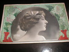 Old postcard France actress Mieris by Reutlinger used 1904