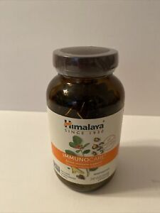 Himalaya ImmunoCare 240 Vegetarian Capsules Gluten Free Immune Support 02/2022
