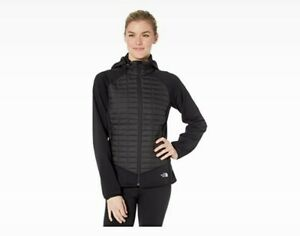 The North Face Women's Thermoball Hybrid Down Jacket, Size S, TNF Black
