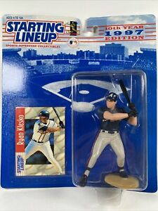 Vtg 97 Starting Lineup Ryan Klesko MLB Action Figure Atlanta Braves SLU W/ Card