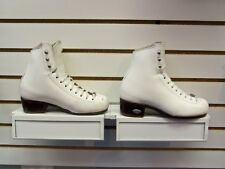 Riedell #25 Ts Girl's Figure Skating Boot White 2 Wide