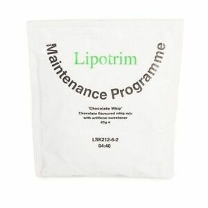 Lipotrim Maintenance Chocolate Whip dessert mix - weight loss or maintenance